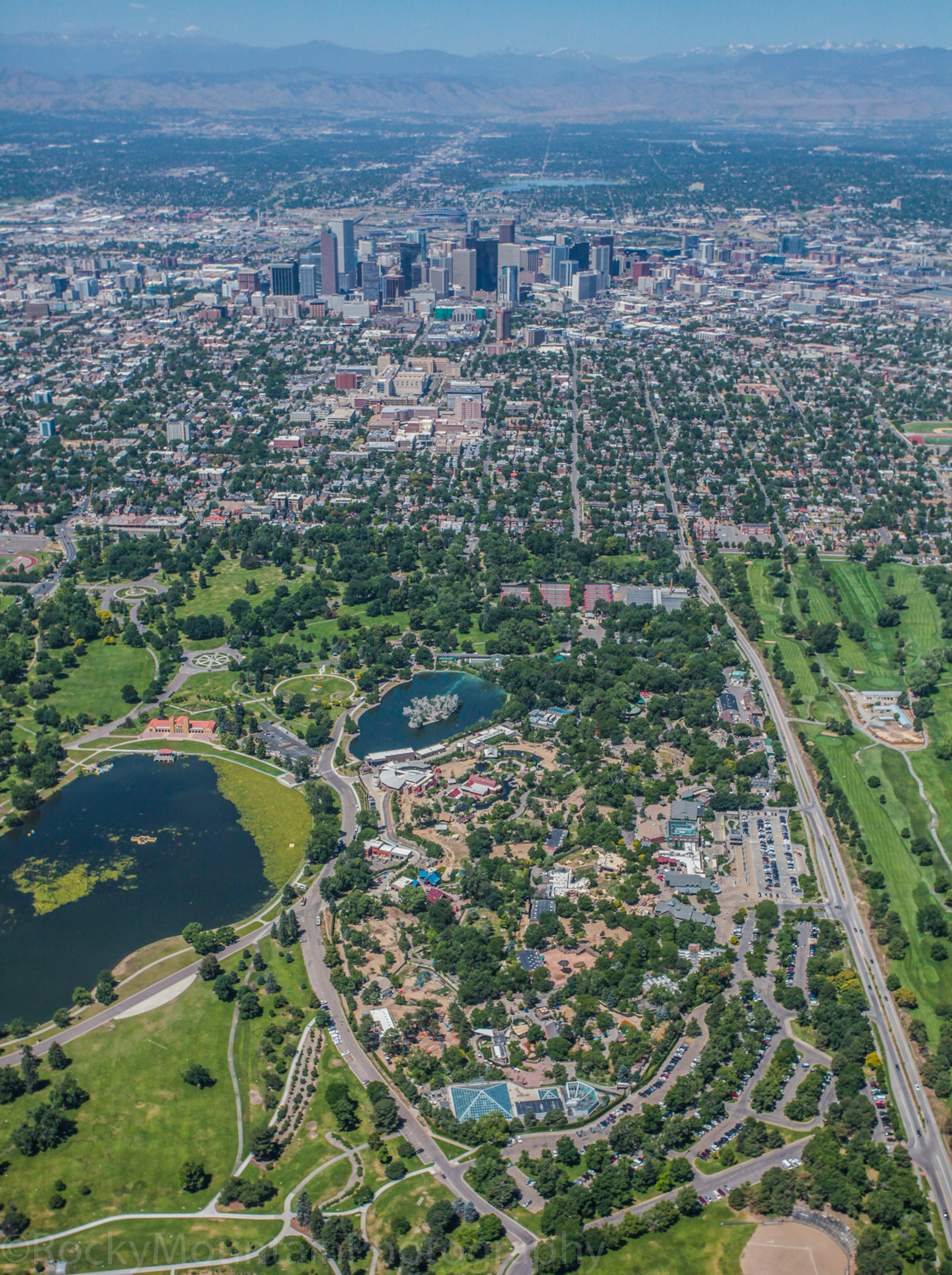 Denver Zoo Aerials Aerial Photography Photo CO Colorado 2300 Ste