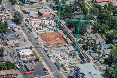 Construction- Student Housing - Aerial Progress