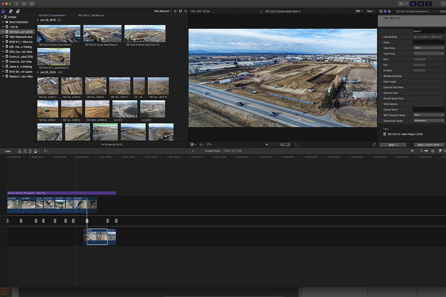 Final Cut Pro Screen Shot