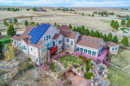 Residential Real Estate Drone Aerial-6