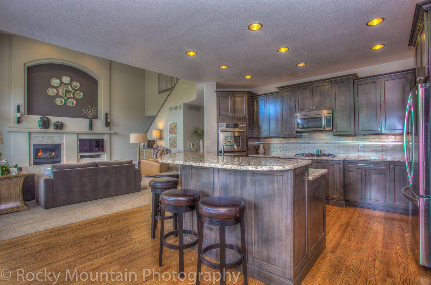 Residential Real Estate HDR Interior-21