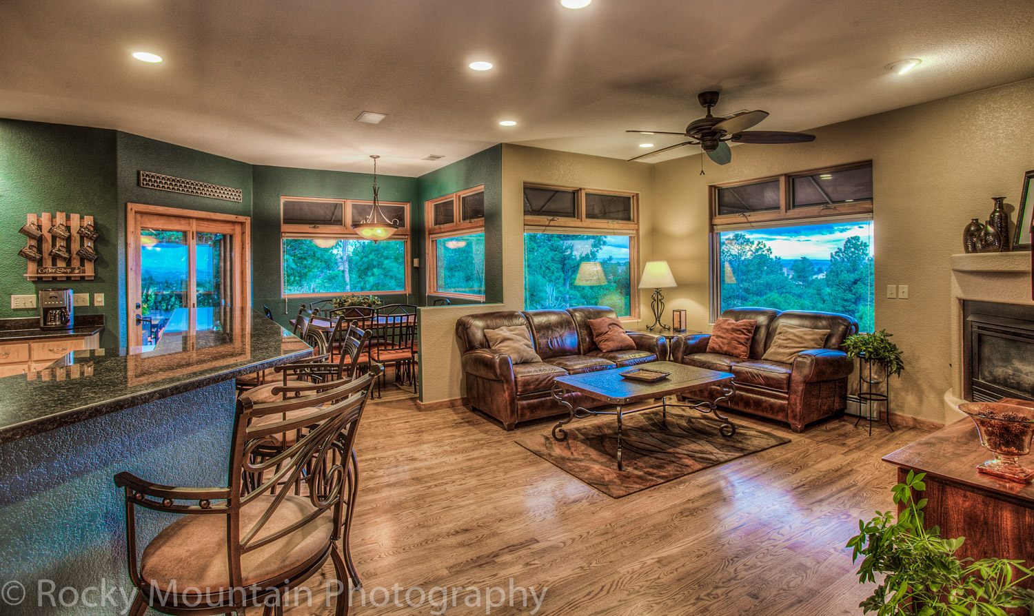 Residential Real Estate HDR Interior-35