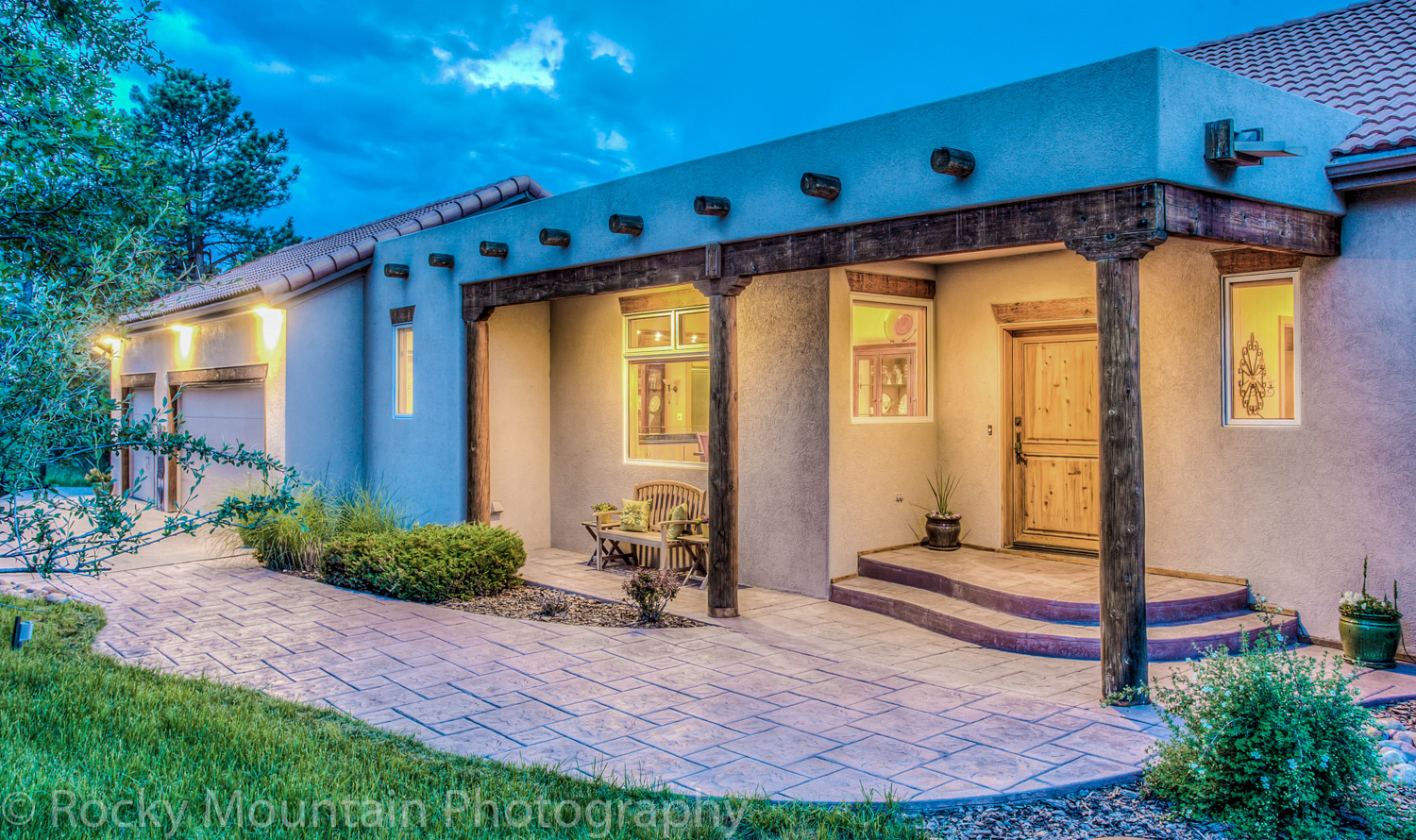 Residential Real Estate Twilight-11